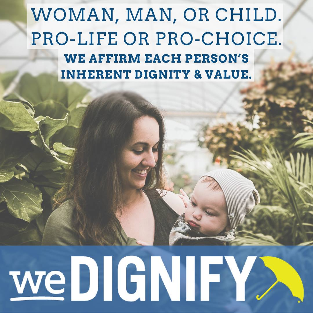 Pro-life spotlight #5: We Dignify mentors pro-life students to lead with charity and humility